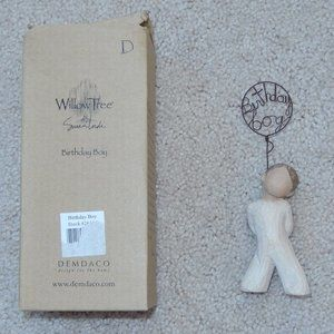 Willow Tree Birthday Boy Statue Figurine with Box